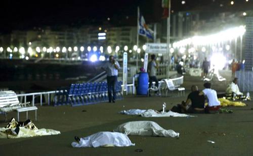 muertos en Niza